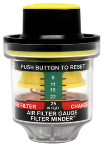 Threaded Mount Air Filter Restriction Indicator / Gauge