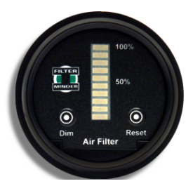 Sensor LED Display - Round