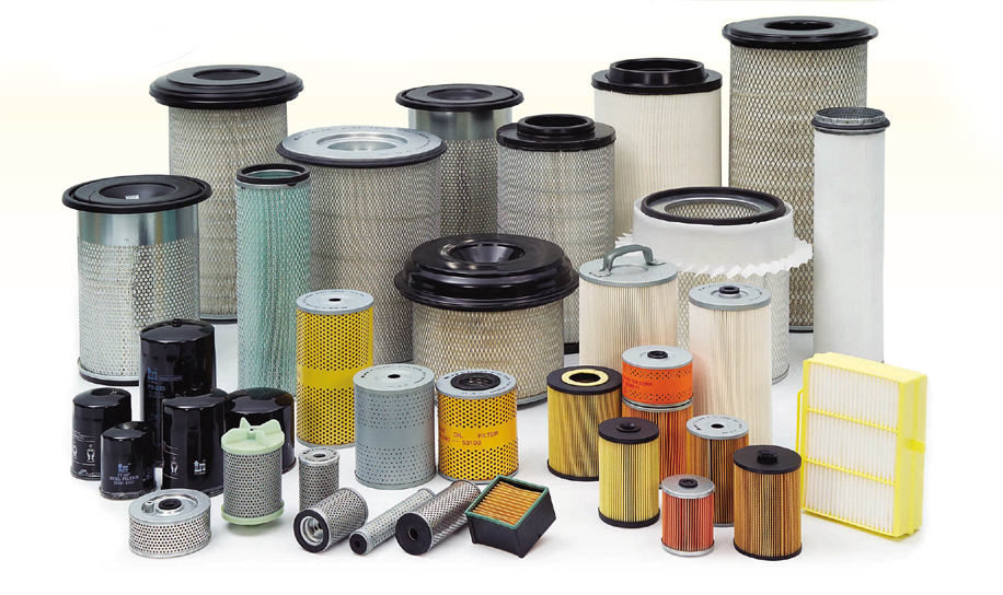 A Variety of Engine Air Filters