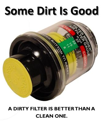A Dirty Filter Element Is Better Than A Clean One